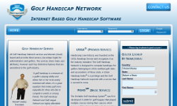 golf handicap network screenshot: click to enlarge
