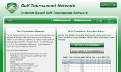 golf tournament network screenshot: click to enlarge
